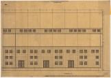 Hans Poelzig Chemische Fabrik, Luban Schwefelsäure-Fabrik, Giebelansicht d