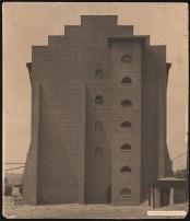 Hans Poelzig Chemische Fabrik, Luban Schwefelsäure-Fabrik, Giebelansicht (identisch mit Inv.Nr. 2641)a