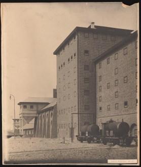 Hans Poelzig Chemische Fabrik, Luban Schwefelsäure-Fabrik, Giebelansicht (identisch mit Inv.Nr. 2641)c