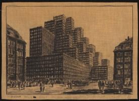 Hans Poelzig Messehaus, Hamburg (1925)k