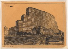 Hans Poelzig Messehaus, Hamburg (1925)m