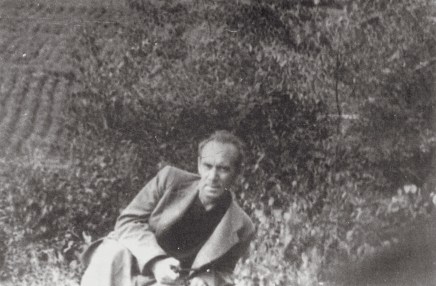 Ivan Leonidov, photographed during the 1950s