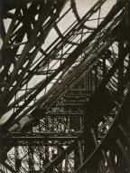 László Moholy-Nagy (American, born Austria-Hungary, 1895-1946) Title Eiffel Tower Work Type Photograph Date 1925 Material Gelatin silver print, printed from paper negative Measurements 9 x 6 3_4 in