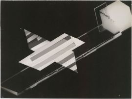 László Moholy-Nagy, Hungarian (Bacsborsod, Hungary 1895 - 1946 Chicago, Ill., USA) Title Photogram Classification Photographs Work Type photograph Date 1925-26