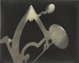 László Moholy-Nagy PHOTOGRAM WITH SEXTANT