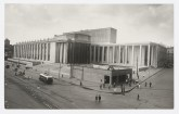 Meyer, Hannes Exterior view of the V.I. Lenin National Library, Moscow, ca. 1933