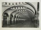 Meyer, Hannes Interior view of Mayakovskaya subway station platform, Moscow, 1938-1954