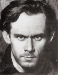 Photo portrait of Ivan Leonidov, 1928