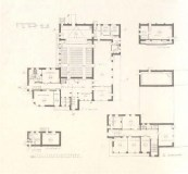 A. Besprozvanny, E. Cherikover. Sugar Factory Club. Competition project. 3rd prize. 1927. Photos 1