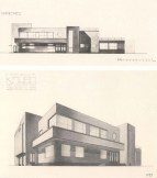 A. Besprozvanny, E. Cherikover. Sugar Factory Club. Competition project. 3rd prize. 1927. Photos