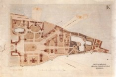 A. Kuznetsov. All-Russian Agricultural, Handicraft and Industrial. Exhibition in Moscow. Competition project. 1923