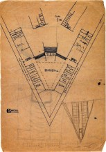 A. Vlasov. Railway Station. Sketches. 1923