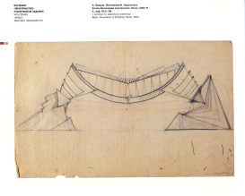 I. Lamtsov. IN. Ladovsky's workshop Double Volume. Revelation and expression of mass and weight. Sketches. 1922