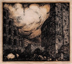 I. Rerberg Crematorium. Diploma project. 1920