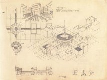 M. Barkhin. House of a Communal Type. 1927