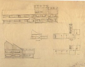N. Kolpakova. Holiday Home for Conductor Teams for 52 Persons. 3rd year. 1930