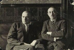Osip Brik and Vladimir Mayakovsky