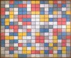 Piet Mondrian Title Composition with Grids- Checkerboard Composition with Light Colors Work Type painting Date 1919 Material oil on canvas Measurements 86 x 106 cm