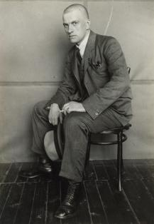 Rodchenko, Alexander (Russian, 1891-1956) Title Portrait of V.V. Mayakovsky Work Type Photograph Date 1924 Material Gelatin silver print Measurements 8 1_2 x 5 7_8 in