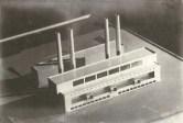 V. Alimov. Supervisors V. Vesnin and G. Orlov. Heat Plant. 1934. Photos b