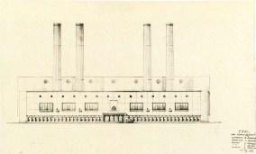 V. Alimov. Supervisors V. Vesnin and G. Orlov. Heat Plant. 1934. Photos