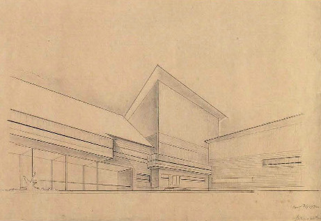 V. Kolpakova. Holiday Home for Conductor Teams for 52 Persons. 3rd year. 1930