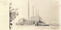 V Kozlov, supervisor A Grinberg, Heat Plant (1934)