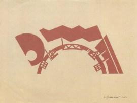 V. Krinsky. Illustrations for Prozhektor magazine. 1925 c