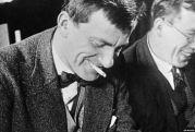 Vladimir Mayakovsky at the Gosizdat publishers in Moscow in 1929