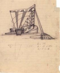 Yu. Spassky. N. Ladovsky's workshop Grain Elevator. Revelation and expression of form. 1922 Photo 1