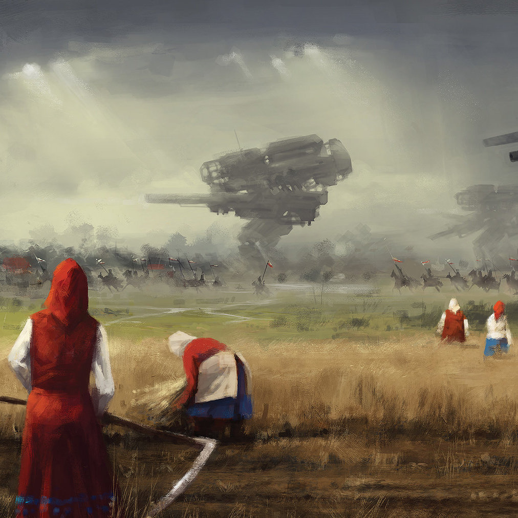 Steampunk obshchina: The weird peasant retro-future of Jakub Rozalski
