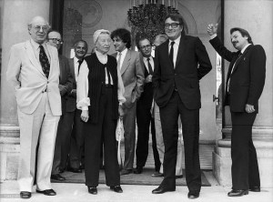 Maxime Rodinson, The Historians Pierre Vidal Naquet And Pierre Nora, The Writer Simone De Beauvoir, The Philosopher Alain Finkielkraut, Professor Claude Lanzmann And The Writer Regis Debray