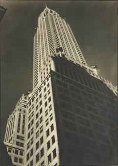 MARGARET BOURKE-WHITE (1904-1971) Chrysler Building (Facade), c. 1930