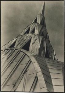 MARGARET BOURKE-WHITE (1904-1971) Chrysler Building, New York, exhibition announcement, 1930
