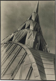 MARGARET BOURKE-WHITE (1904-1971) Chrysler Building, New York, exhibition announcement, 1930