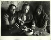 Margaret Bourke-White, Russian peasant women eating food fr. the same bowl (Georgian SSR 1932)