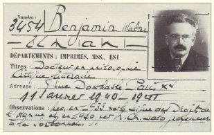 Walter Benjamin 2