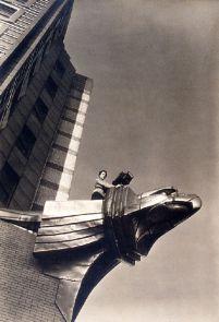 XX1990.2483, PHOTOGRAPH, MARGARET BOURKE-WHITE ON CHRYLSER