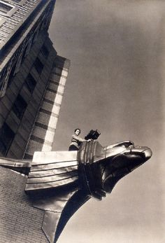 XX1990.2483, PHOTOGRAPH, MARGARET BOURKE-WHITE ON CHRYLSER