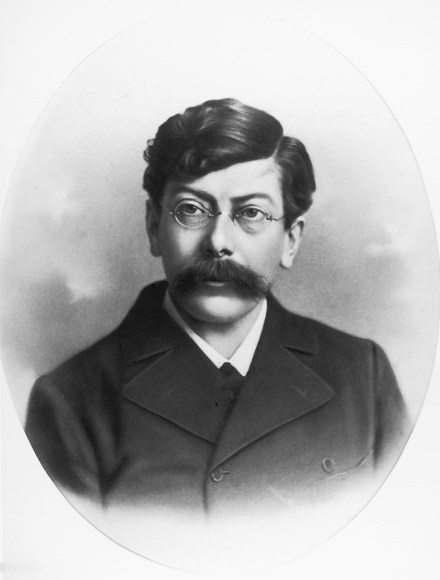 Austrian politician Victor Adler, Photograph, Around 1890