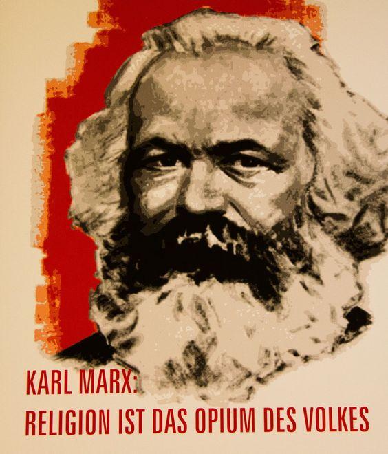 Karl Marx - Religion ist das Opium des Volkes