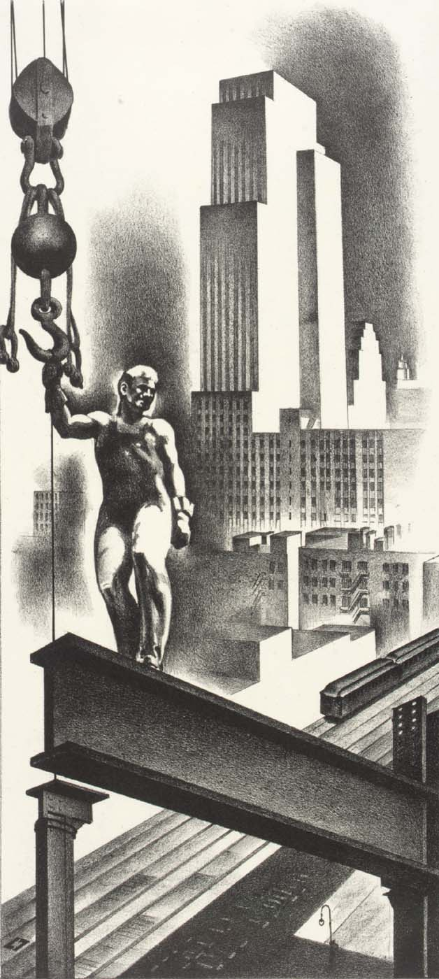 Above the City 1932
