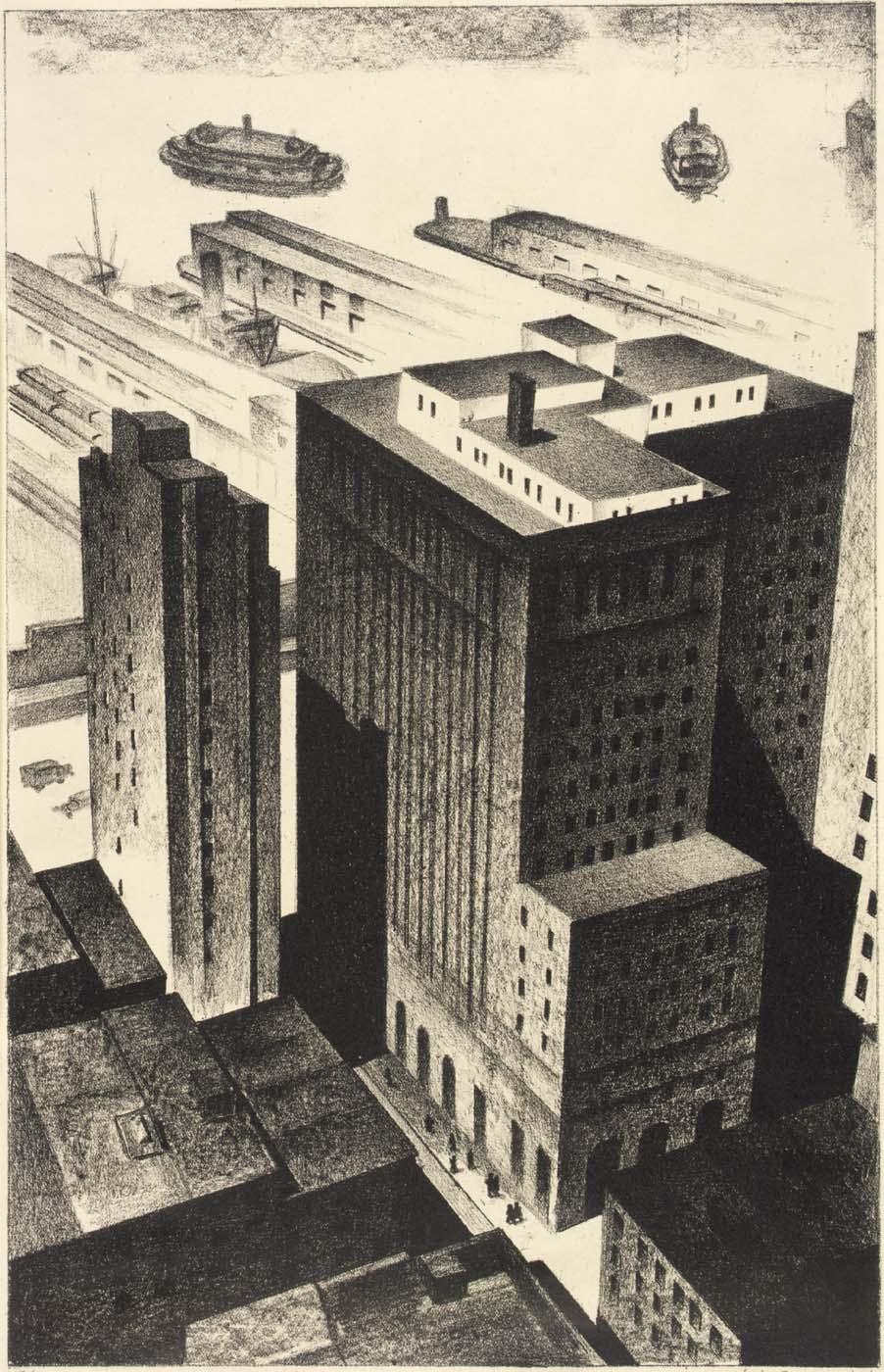 Backyards of Broadway 1926
