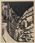 Louis Lozowick, New York, 1925 lithograph