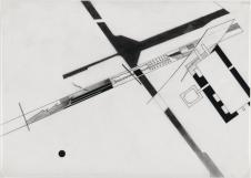 Zaha Hadid, (Artist), British, born Iraq, 1950 Title Parc de la Villette- Plot Breakdown, project Paris, France Plan Work Type Architectural Drawings Date Drawing date- 1982-83