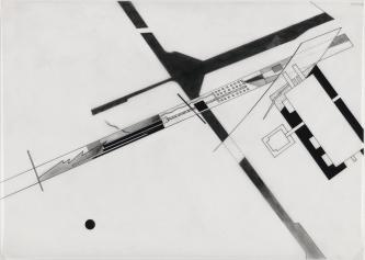 Zaha Hadid, (Artist), British, born Iraq, 1950 Title Parc de la Villette- Plot Breakdown, project Paris, France Plan Work Type Architectural Drawings Date Drawing date- 1982-83