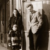 Paul de Man and his family in Paris