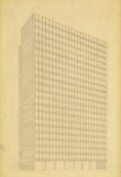 ludwig-mies-van-der-rohe-promontory-apartment-building-chicago-illinois-perspective-from-southeast-1946