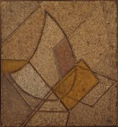 Antoine Pevsner Cork Bas-Relief 1923