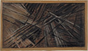 Mikhail Larionov Rayonist Composition- Number 9 (1913)